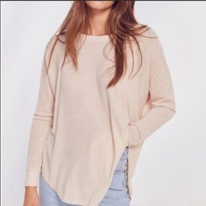 UO out from under cream oversized sweater